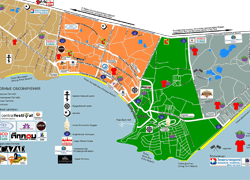 Карта Паттайи с достопримечательностями, рынками и торговыми центрами