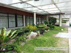Фотогалерея Ambassador City Jomtien Ocean Wing: территория возле корпуса Амбассадор Океан