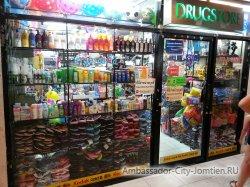 Фотогалерея Ambassador City Jomtien Ocean Wing: небольшой магазин сувениров на нулевом этаже корпуса Океан Винг