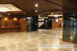 Фотогалерея Ambassador City Jomtien Ocean Wing: фойе первого этажа