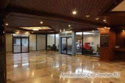 Фотогалерея Ambassador City Jomtien Ocean Wing 4*:вестибюль на первом этаже гостиницы Океан Винг