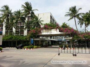 Панорамный вид на отель Ambassador Garden Wing