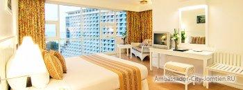 Интерьер номера в корпусе Marina Tower Wing отеля Ambassador City Jomtien