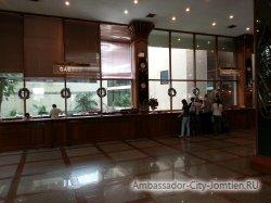 Фотогалерея Ambassador City Marina Tower Wing 3*: Reception (ресепшен) и Casher (кассир, пункт обмена валют) в холле отеля