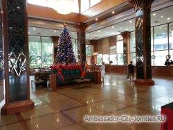 Фотогалерея Ambassador City Marina Tower Wing 3*: вид в холле
