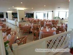 Фотогалерея Ambassador City Garden Wing 3*: место для завтрака