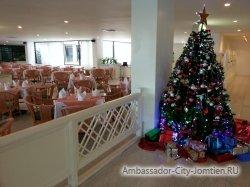 Фотогалерея Ambassador City Garden Wing 3*: скоро новый год (елка)