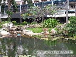 Фотогалерея отеля Ambassador City Jomtien Ambassador Wing 2*: ландшафтный дизайн