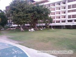 Фотогалерея отеля Ambassador City Jomtien Ambassador Wing 2*: еще один вид на корпус