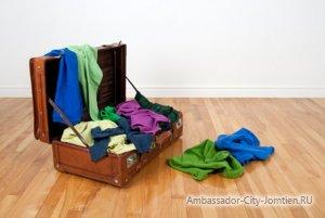Лишние вещи во время поездки в отпуск в Тайланд