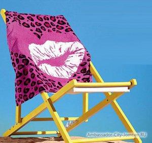 Полотенца для пляжа и бассейна в гостинице Ambassador City