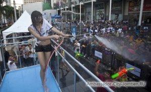 Сонгкран - тайской Новый год - Фестиваль воды