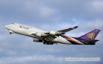 Летим в Тайланд: время перелета, посадка в самолет