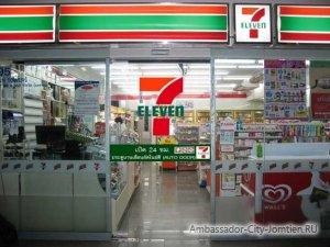Пополнить баланс можно в любом из многочисленных магазинов Тайланда