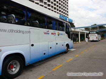 Трансферные автобусы от отелей Паттайи в аэропорт Бангкока Суварнабхуми