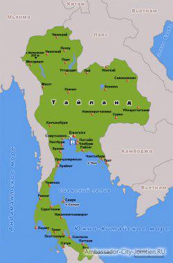 Тайланд: информация о стране