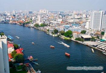 Река Чао Прая, Бангкок, Тайланд