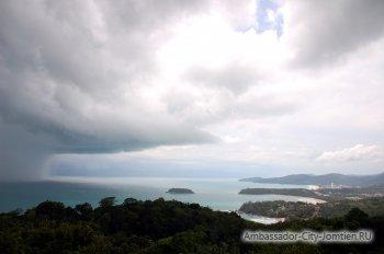 Сезон дождей в Тайланде: Пхукет