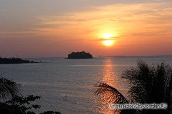 Экскурсия на Ко Чанг: закат на пляже