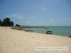 Пляж Вонгамат (Wongamat Beach) в Паттайе
