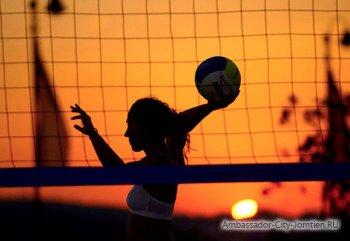 Турнир по пляжному волейболу среди женщин!