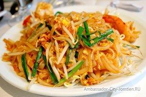 """Тайская кухня: блюдо """"Пад тай"""""""