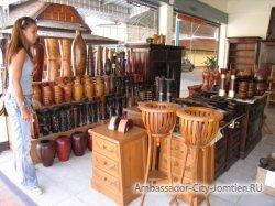 Изделия из тикового дерева из Тайланда