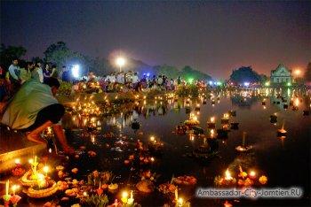 6 ноября 2014 года в Паттайе празднуется Лой Кратонг