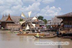 Плавучий рынок (Floating Market) в Паттайе