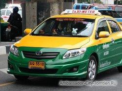 Как ездить в такси в Тайланде