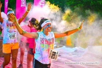 Красочный забег - 2015 в Паттайе