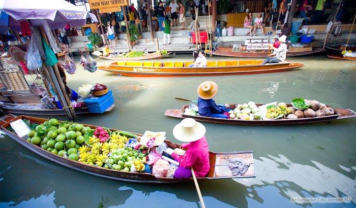 Плавучий рынок в Паттайе отзывы