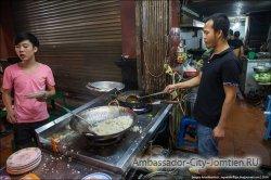 запрет уличной еды в Бангкоке