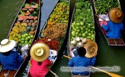 Фруктовая экзотика Бангкока