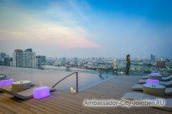 Лучшие отели Бангкока с бассейном на крыше