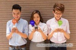 Тайцы побили все рекорды по использованию мобильного интернета
