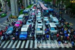 К тайским водителям будут применяться новые штрафы