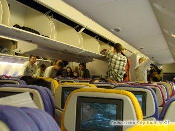 Сколько раз кормят в самолете до тайланда