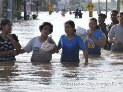 Юг Таиланда утопает в ливневых дождях