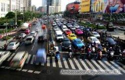 На дорогах Таиланда вводится новая система штрафов
