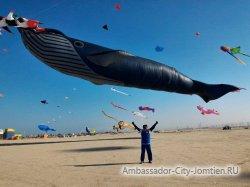 На крыльях ветра. В Таиланде пройдет крупнейший фестиваль воздушных змеев